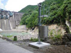 二川ダム下流の全景