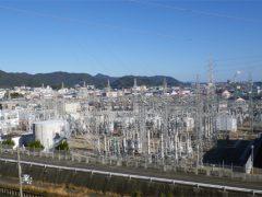新宮変電所の全景