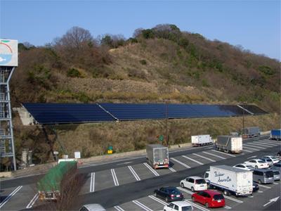 阪和自動車道紀ノ川SA(上り線)